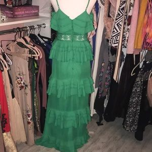 4f1715bc96 ASOS Dresses - Boohoo Tiered Ruffle Maxi